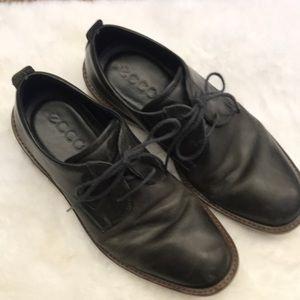 Ecco Men's Hybrid Black Leather Shoe